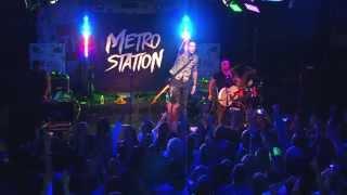 "Metro Station - ""Kelsey"" LIVE at The Garage"