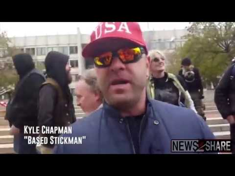 "Interview: ""Based Stickman"" Kyle Chapman at Boston Rally for the Republic"