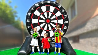 Five Kids Outdoor Games Song + more Children's Songs and Videos