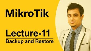 Mikrotik Bangla tutorial-12 (MTCNA) :How to Backup and restore Mikrotik Router Configuration Files