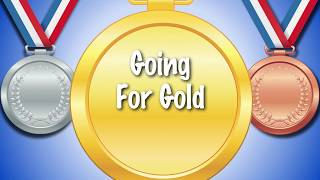 *Going For Gold* | Sports day song | karaoke lyrics | kids and schools