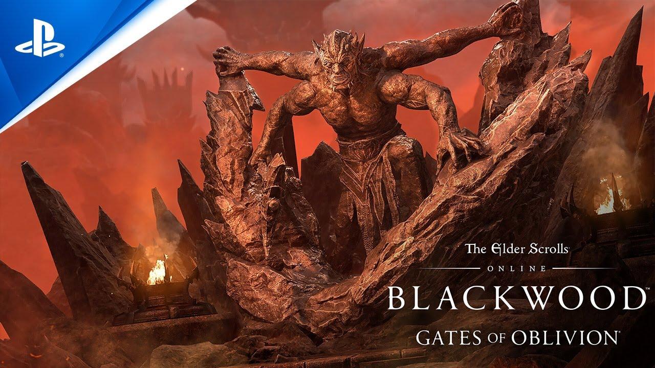 The Elder Scrolls Online - Blackwood Prologue Trailer | PS4