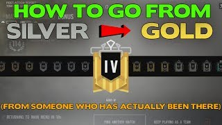 Rainbow Six Siege Tips    How to Rank Up from Silver to Gold