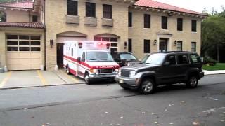 Glen Ridge Volunteer Ambulance Squad responds to a 911 call