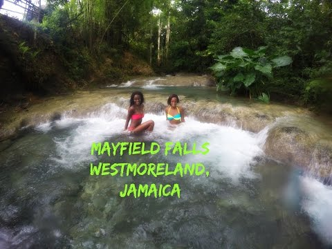 Trip to - MAYFIELD FALLS - Westmoreland Jamaica