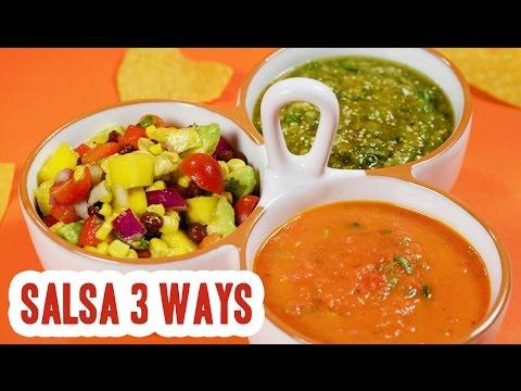 3 Easy Salsa Recipes