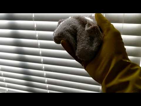 How To Clean Blinds Quickly, Easily and Well!!
