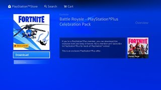 How To Get FREE! Playstation Celebration Pack 5 in Fortnite (New FREE! Playstaton Pack 5 )