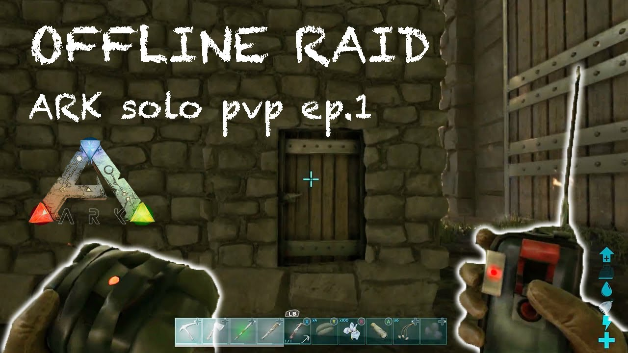how to not get offline raided ark