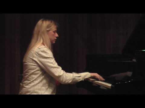 Chopin Etude Op 10 #2 (rehearsal) Valentina Lisitsa