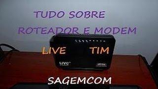 live Tim roteador e modem