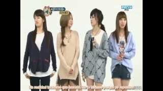 [Full] 120321 miss A  Weekly Idol parte 1 sub español