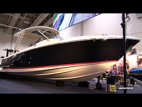 2018 Chris Craft Launch 38 - Walkaround - 2018 Toronto Boat Show