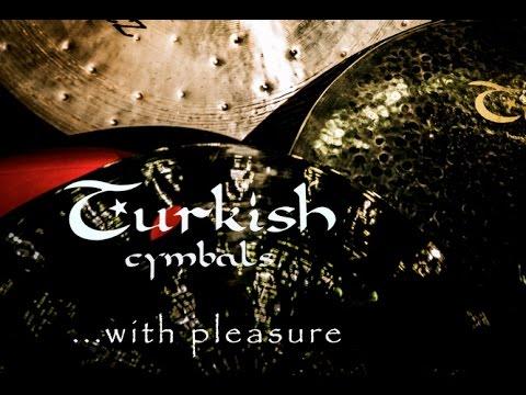 "Turkish Cymbals - Test Of Effect Cymbals: Sirius Crash 14"", 16"", 18"", Classic Crash 8"", 9"", 10""."