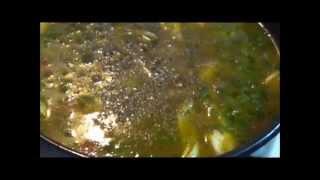 Суп со стручковой фасолью. ВКУСНЫЙ И ПОЛЕЗНЫЙ