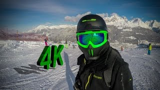 4K Snowboard Ski Edit Savognin 1 - GoPro HERO 4 Black