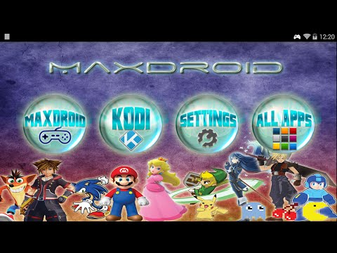 MaxDroid-GPD XD-Handheld Console By MaxPie Gaming