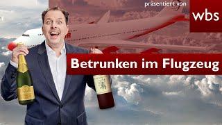 Betrunken im #Flugzeug: darf mich Airline rauswerfen? | Rechtsanwalt Christian Solmecke