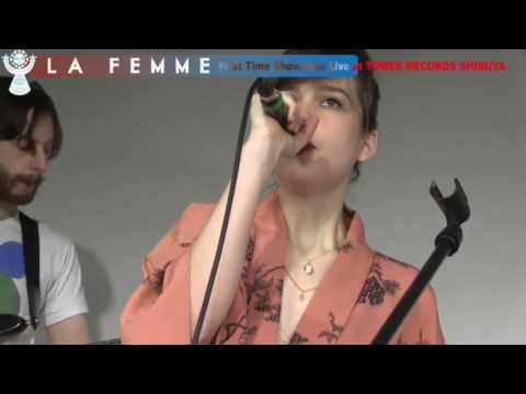 """La Femme (""""Mystère"""", """"Psycho Tropical Berlin"""") : miniconcert 2017 (24 mn • captation officielle)."""