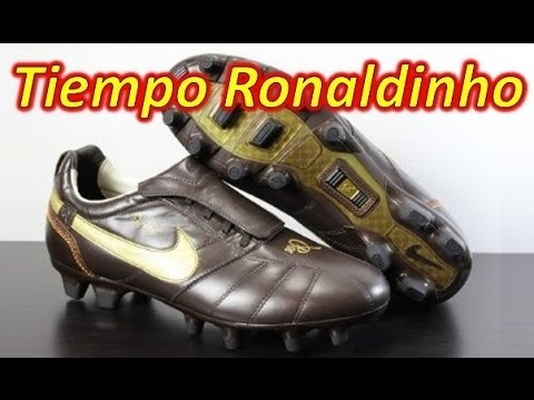 6e1b069232d Nike Tiempo Ronaldinho 10R - Retro Unboxing + On Feet - YouTube