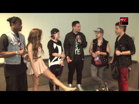 IaMmE Crew sans Moon at WOD LA 2013 Interview Part 1