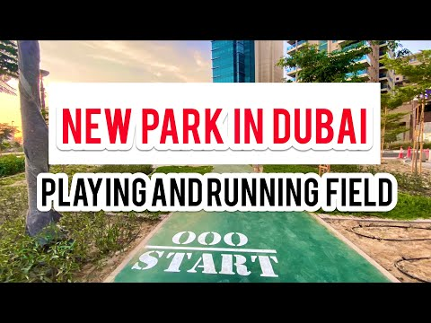 WHERE YOU CAN EXERCISE OUTDOOR IN DUBAI/ Clock Tower Park/ Running Field/ Vlog 2020