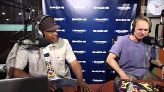 Rockstar David Lee Roth Freestyles Live on Sway in the Morning!