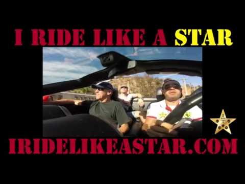 Drive or ride in a Ferrari for $109 with I RIDE LIKE A STAR! No deposit!