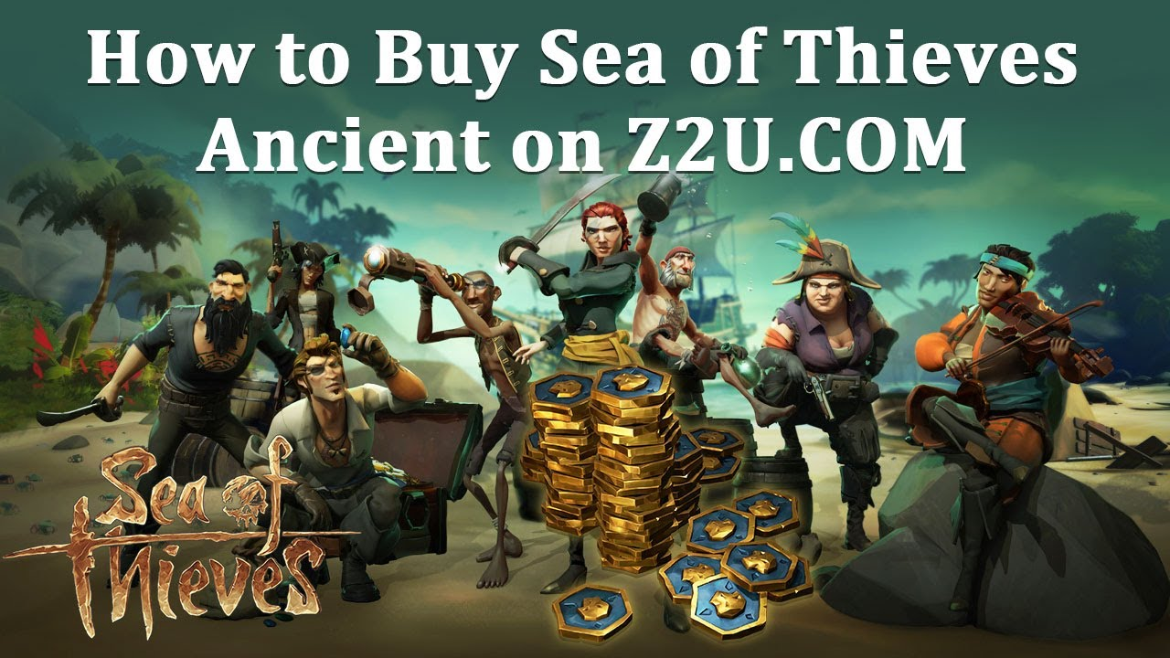 How to Buy Sea of Thieves Ancient Coins & Bundle Top Up? Safe Sale SOT Coin Shop