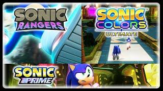 "Iizuka Says Sonic Rangers News Is Coming ""Soon"", Talks Sonic Prime Game, & Colors Ultimate News!"