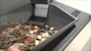 Cummins JetSort 6000 Coin Sorter at Teacher's Federal Credit Union in Huntington, NY