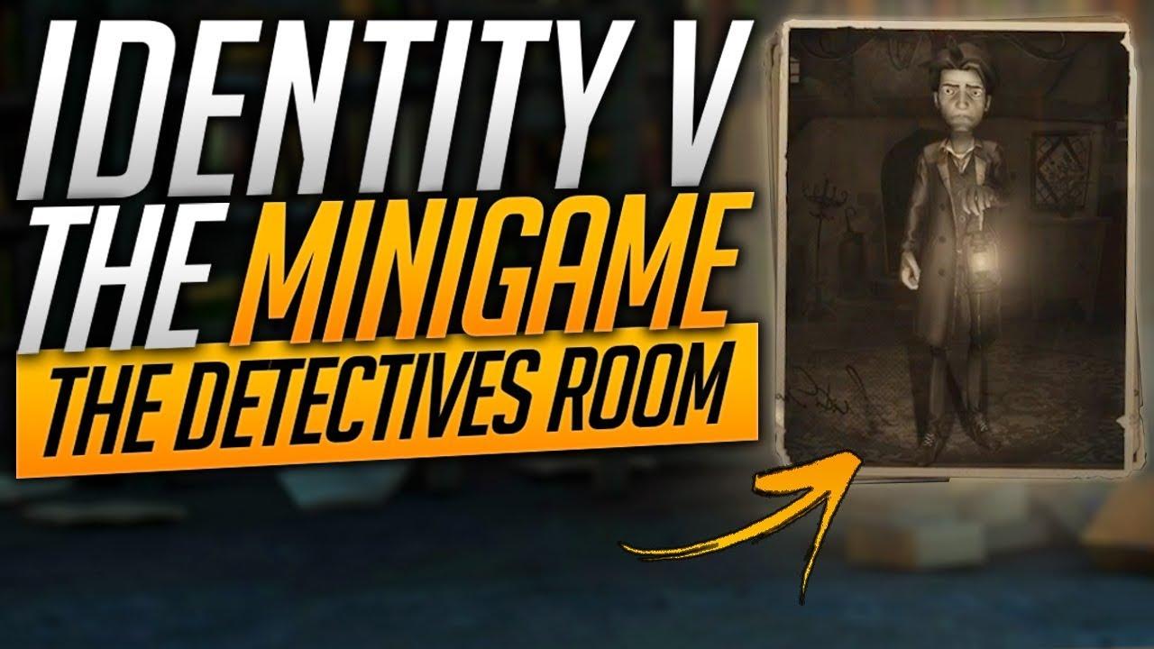 Identity V - Minigame - The Detectives Room
