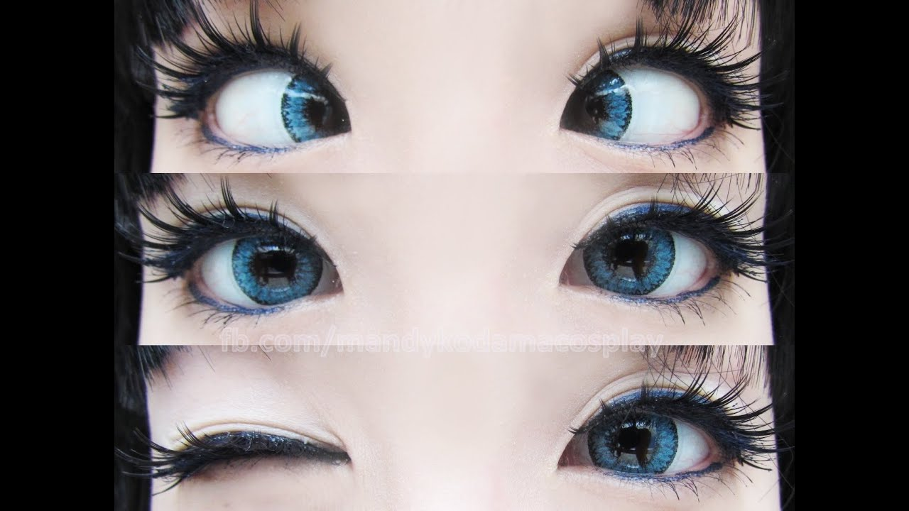 Review Eos Cat Eyes Brown Lenses