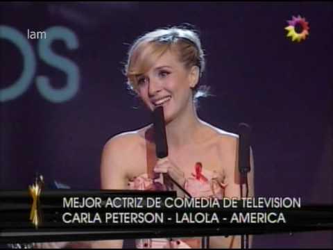 Mejor Actriz Comedia 2008   Carla Peterson x  LALOLA