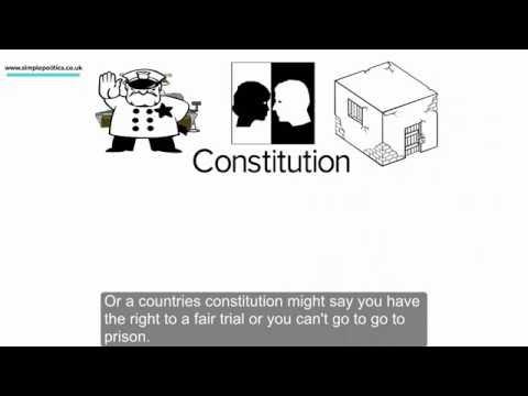 Simple Politics guide to the British Constitution