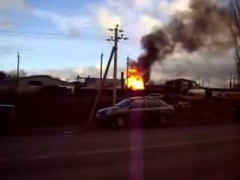 Взрыв в Новой Усмани