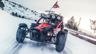 Racing the Ariel Nomad up a mountain | Top Gear
