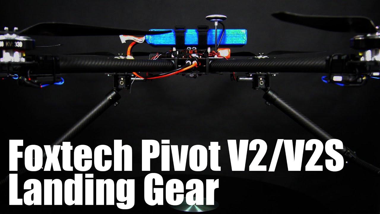 Foxtech pivot v s automatic landing gear doovi