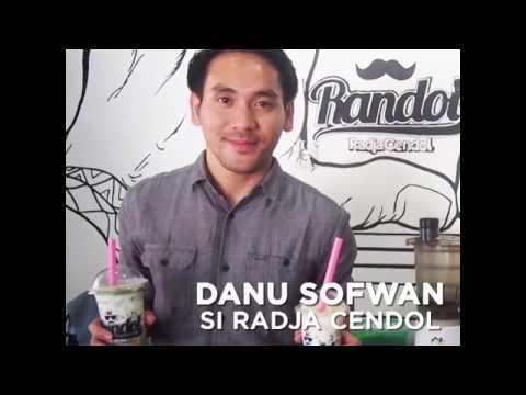 Kisah Sukses Danu Sofwan, Si Radja Cendol yang Sukses Membangun Bisnis Randol