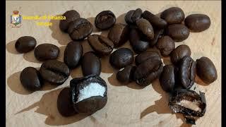 Chicchi di caffè ripieni di cocaina sequestrati a Malpensa
