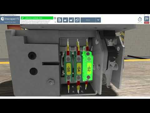 Inscape VTS - Railway equipment Virtual Maintenance Trainer