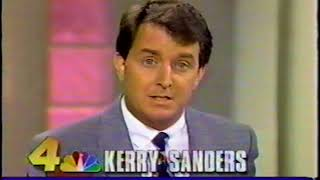 WTVJ News 1991: Tapping Into Trouble - Kerry Sanders