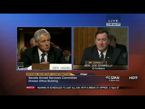 1.31.13 - Donnelly asks Hagel about military and veteran suicide rate