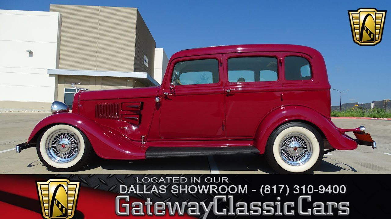 1934 Plymouth Deluxe PE #474-DFW Gateway Classic Cars of Dallas ...