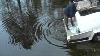 Utsättning av röding i Stora Svartsjön