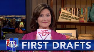 First Drafts: Valentine's Day 2021 feat. Evie Colbert