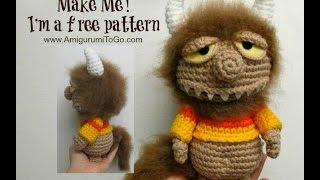 Unnamed Monster Crochet Along part one