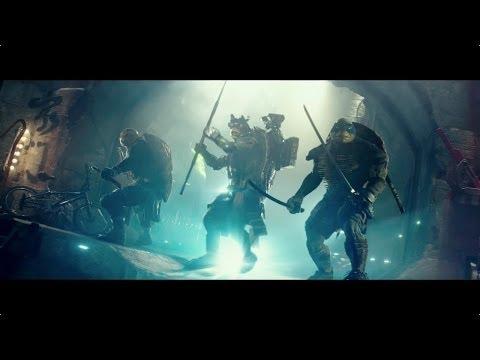 ЧЕРЕПАШКИ-НИНДЗЯ - Официальный трейлер (HD)