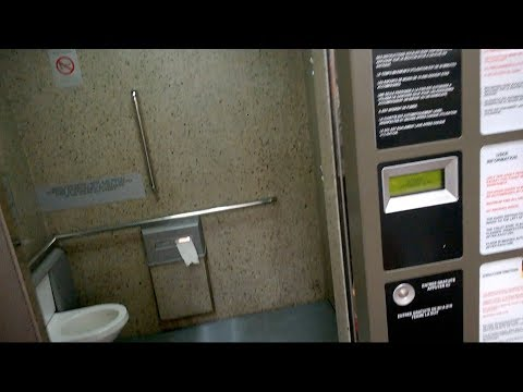 Free Self-Cleaning Public Toilets in France