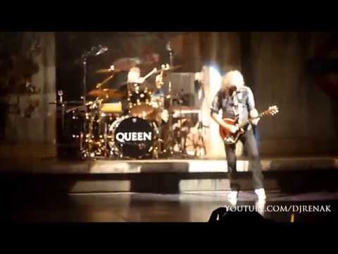 Bohemian Rhapsody - We Will Rock You cast - Final Performance with Brian May and Roger Taylor